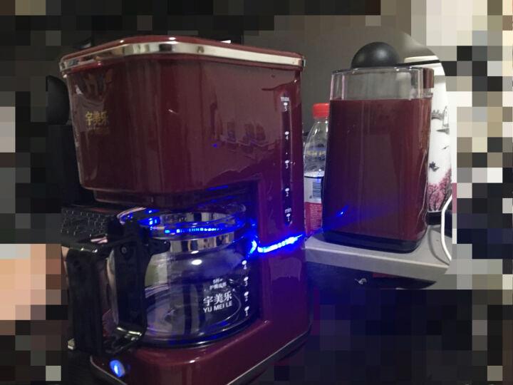 宇美乐(YUMEILE) 咖啡机家用全自动 美式滴漏咖啡机迷你现煮咖啡壶 红色 晒单图