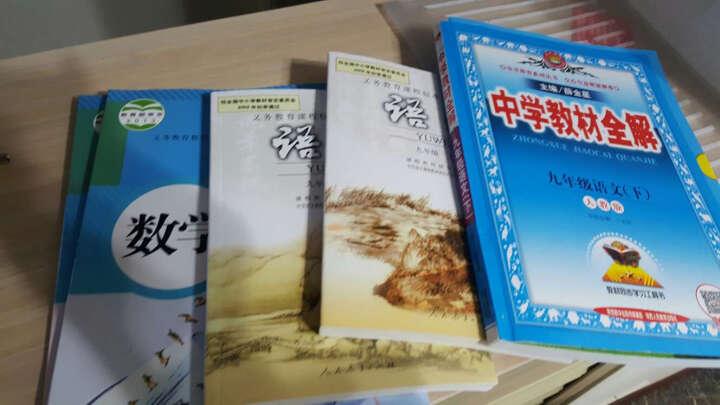 全彩版人教版9九年级上册语文书初三语文上册课本九年级语文上册教材教科书 晒单图
