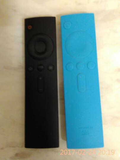 小米(mi)遥控器 小米盒子1 2 3代原装遥控器 小米电视2 遥控器 小米红外遥控器+蓝色保护套 晒单图