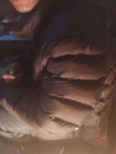 尊首2016秋冬新款男士羽绒服潮男短款青年韩版休闲修身轻薄外套 灰色 XXL 晒单图
