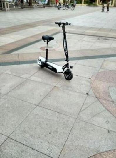 普卡(pukka)锂电池滑板车代驾自行车便携折叠电动滑板车代步车迷你电瓶车电动滑板车成人折叠 动力橙 30公里续航 晒单图
