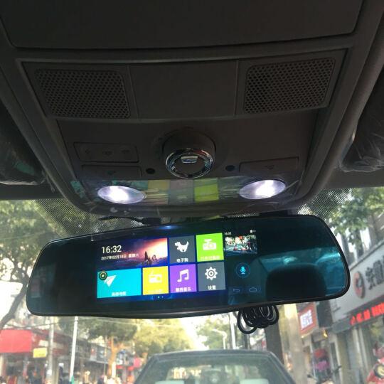 丁威特7英寸智能3G声控导航仪行车记录仪双镜头电子狗蓝牙wifi升级高清夜视后视镜一体机 (套餐四32G卡)7英寸大屏高清双镜头带电子狗版 晒单图