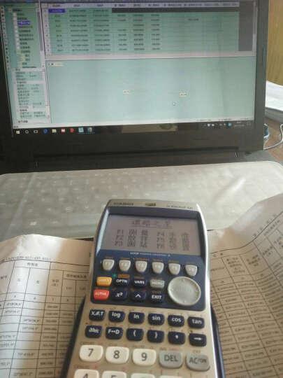 卡西欧(CASIO)FX-9860GII SD图形工程测量计算器测绘编程计算机 官方标配(出国留学SAT/AP考试) 晒单图