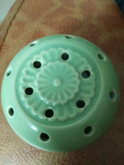 王太医 艾灸马甲 陶瓷艾灸罐艾灸杯随身灸便携式足灸盒 套餐二 绿色款+隔热套+艾柱54粒 晒单图