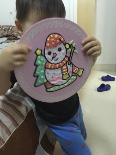 魔法(MOFA)雪花泥画板珍珠泥超轻粘土 eva创意圣诞节礼物幼儿园手工黏土儿童diy画盘 魔法圣诞树 晒单图