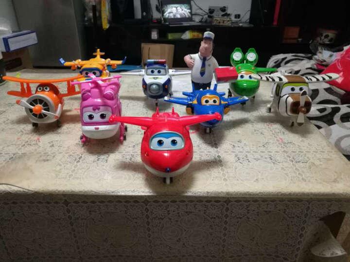 奥迪双钻(AULDEY)超级飞侠第五季玩具套装全套新款变形机器人园园乐迪朗朗米客男孩女孩 大变形三款(圆圆+朗朗+米克) 晒单图