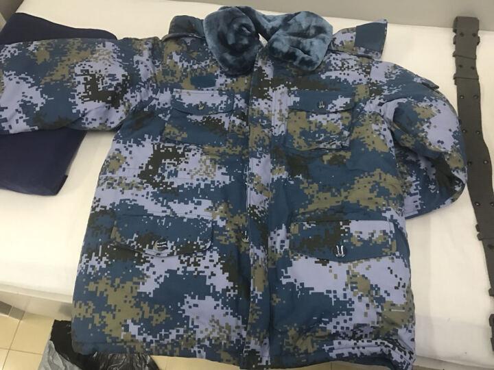 盾郎 07海军迷彩棉大衣长款加厚男武警服冬装加厚87保安常服陆战队军迷用品外套棉风衣休闲 海洋迷彩蓝色 175/92-96 晒单图