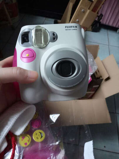 富士(FUJIFILM)INSTAX 一次成像相机  MINI7s相机 粉色 晒单图