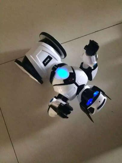 【升级新款】艾力克智能机器人可对战自动平衡智能玩具 会唱歌跳舞对话负重 白色 晒单图