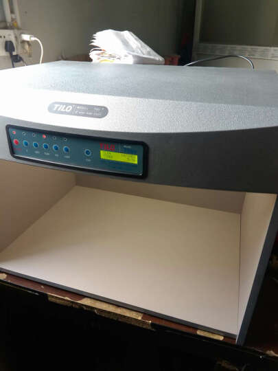 三恩驰 天友利TILO标准光源对色灯箱 四五六光源 比色灯箱D65 UV纺织印刷对色灯箱 美式灯箱 晒单图