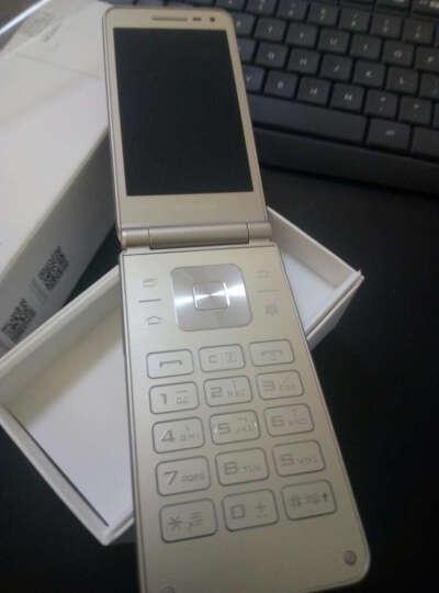 三星 Galaxy Folder(SM-G1600)2GB+16GB 金色 移动联通电信4G翻盖手机 双卡双待??  晒单图