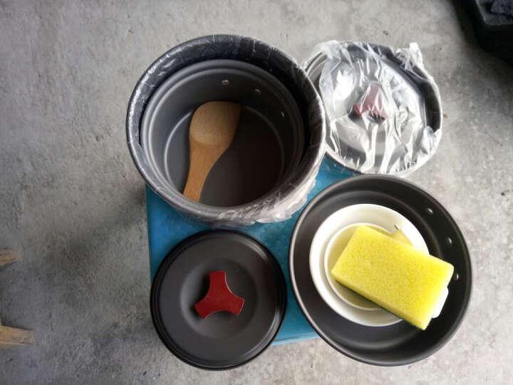 户外炊具 多功能锅具野营餐具便携式套锅组合套装 野餐烧烤 晒单图