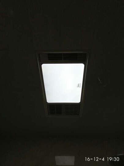 艾美特(Airmate)集成吊顶铝扣板浴霸MV36FHZ-01取暖器浴室冷风机凉暖风机换气扇照明干燥 晒单图