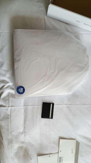 BVP铂派 公文包男商务 手提包横款牛皮电脑包青年文件包公务包男士包包 高档休闲单肩斜挎包 蓝色 晒单图