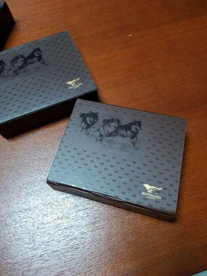 七匹狼 SEPTWOLVES男士钥匙包 多功能牛皮时尚新款带钞位钥匙扣钱包 3A10332 晒单图