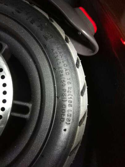 小米(MI) 定制版Ninebot 九号平衡车 智能代步电动体感车(黑) 晒单图