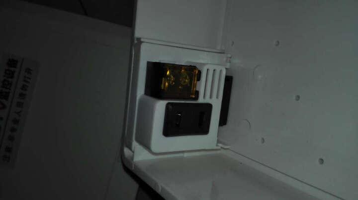 Yestv监控电源12V防水盒 塑料金属带抱箍带插座接线防水箱室外监控电源盒弱电设备配件 金属电源防水盒-B016 晒单图