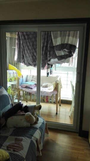 阳光瑞景 海螺塑钢门窗 塑钢平开门 阳光房玻璃门 阳台门 厂家直销 60系列实惠型 晒单图