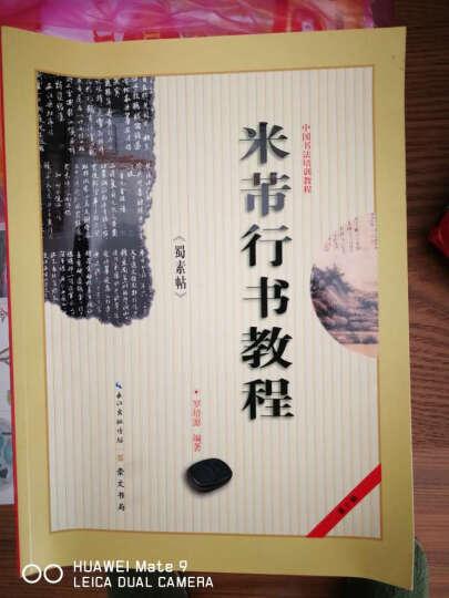 中国书法培训教程·米芾行书教程:《蜀素帖》 晒单图