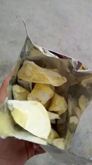【预售】伊果泰国榴莲干金枕头蜜饯果干冻干 好吃水果干 休闲特产零食品 80gx2袋 晒单图