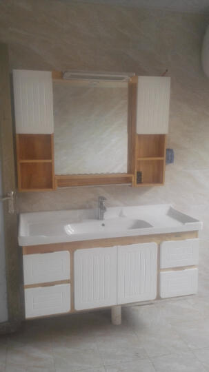 泊的橡木浴室柜欧式简约实木洗脸洗手盆组合洗漱台池