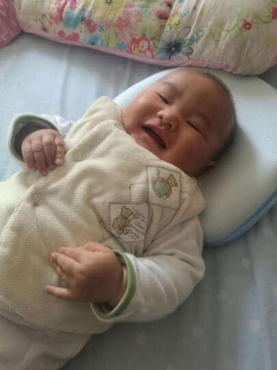 最强大脑 0-12月定型枕初生婴儿枕头 宝宝预防纠正偏头扁头 家居床品满月送礼礼盒 王子定型枕 晒单图