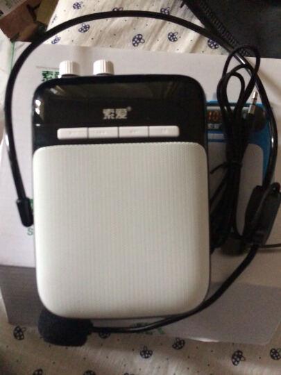 索爱(soaiy)S-318 便携式数码扩音器 大功率小蜜蜂扩音器教学专用教师导游 插卡播放器 唱戏机 玫瑰金 晒单图