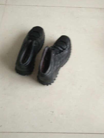 伶羊WISESHEEP男靴春秋季时尚靴户外工装靴真皮户外登山马丁靴军靴 0632单款军绿 41 晒单图