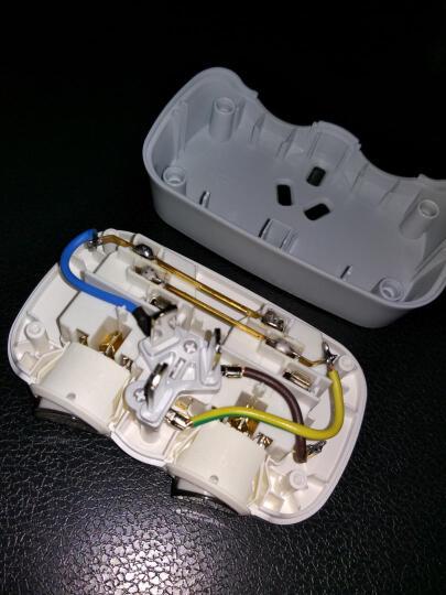 公牛(BULL)GN-9323 一转二插座/转换插头/电源转换器 2位分控无线转换插座 晒单图