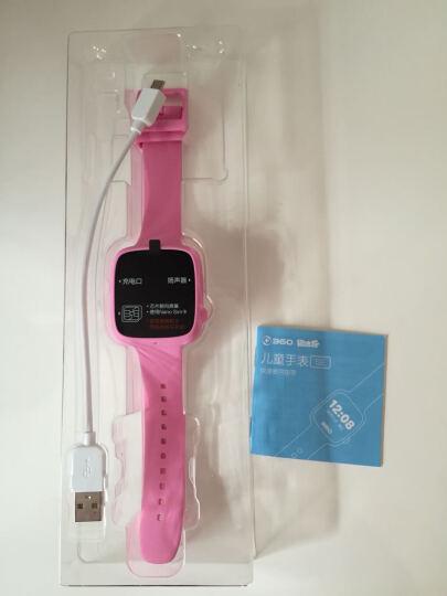 360儿童手表彩屏版 防丢防水GPS定位 儿童手机 360儿童卫士 儿童手表SE W601智能彩屏电话手表 樱花粉 晒单图
