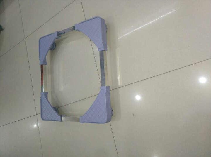 IT-CEO 可调节支架 滚筒洗衣机底座 通用洗衣机托架 冰箱冰柜底座 移动支架 45-63厘米 方格纹 晒单图