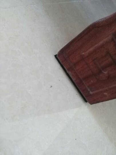 家具脚垫 / 加厚毛毡桌椅脚垫 / 静音地板保护粘垫 / 防滑防磨桌椅脚垫 /自粘保护垫 4mm厚 / 黑色EVA橡胶 晒单图