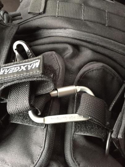 雷蝎正品 硬质铝合金大号D型多功能带锁快挂 登山扣 钥匙扣 挂扣  晒单图