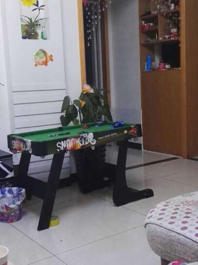 ZC 儿童台球桌乒乓球桌冰球桌三合一游戏桌家用桌球 多功能大号 晒单图