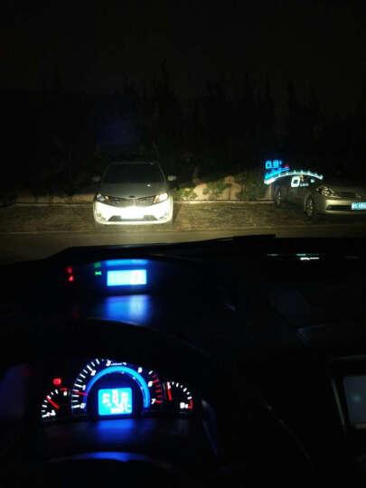 佳卡诺 抬头显示器ODB行车电脑车用汽车抬头显示仪适用于大众本田丰田福特雪佛兰改装专用 现代名图 悦动 朗动 IX35 IX25瑞纳 途胜 导航款(黄白色 蓝白色 下单请备注颜色和手机系统) 晒单图