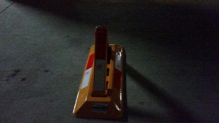 西力特车位锁地锁汽车手动停车占位锁加厚防撞防压挡车器 8吨抗压加强版+螺栓+套筒 晒单图