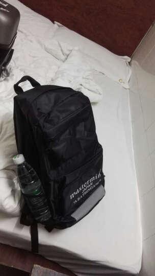 UYUK 2016新款男印花字母双肩包书包背包学生书包双肩包多用背包男女时尚休闲包 晒单图