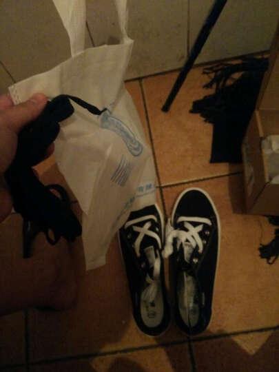 回力/Warrior 春夏新款情侣款帆布鞋学生平跟白色女鞋平底低帮休闲鞋子 WXY-805T 深蓝 37 晒单图