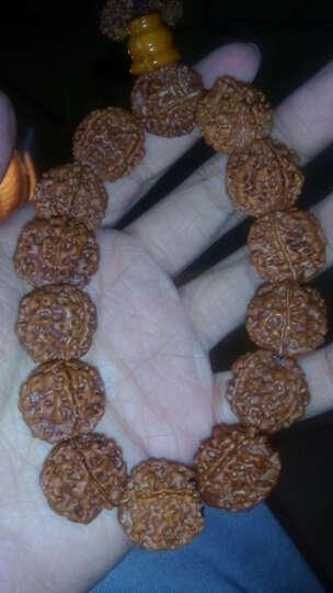 檀朝 金刚菩提手串 藏式尼泊尔五六瓣菩提子男士佛珠手链 善财童子18-20mm五瓣 晒单图