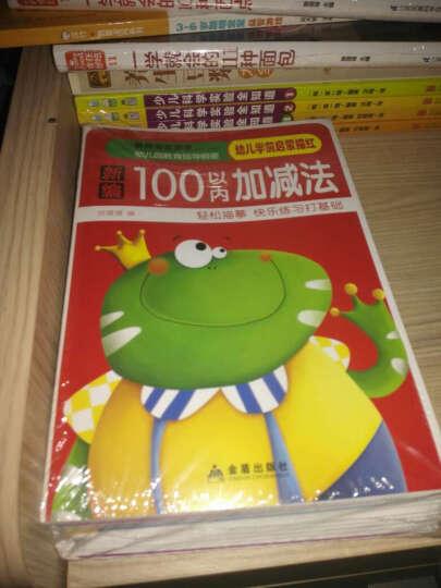 幼儿学前启蒙描红全14册3-4-5-6岁汉字拼音数字描红本幼儿园学前儿童练字加减法描字本 晒单图