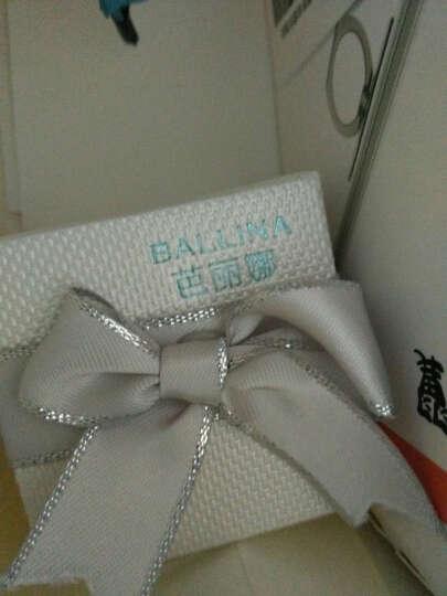 芭丽娜925银耳钉女款 日韩版个性水钻球耳饰学生 银饰品 生日送女友 浪漫紫钻项链 晒单图