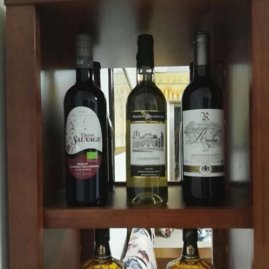 法国红酒 原瓶进口葡萄酒整箱 骑士舞者 桃红750ml*6 晒单图