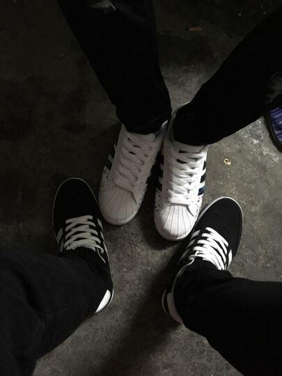 LUCCST男士休闲鞋 春夏季男鞋透气学生鞋 韩版户外运动板鞋 男生鞋子男款2203 灰蓝 43 晒单图