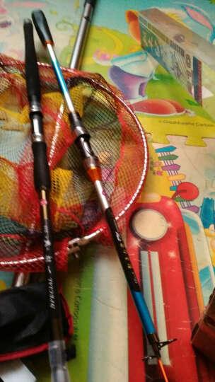 三分钟(IN THREE MINUTES) 三分钟不锈钢抄鱼网兜伸缩抄网杆折叠抄网头40定位渔网渔具 普通2.5米 晒单图