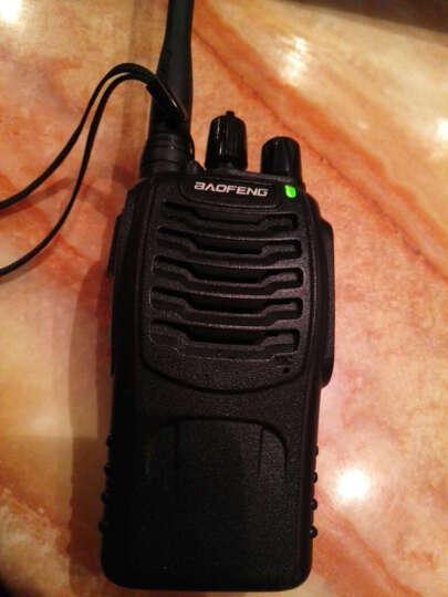 宝锋(BAOFENG) 对讲机民用迷你BF-888S 1-10公里手台8W宝峰无线酒店 一代黑色2800标配 晒单图
