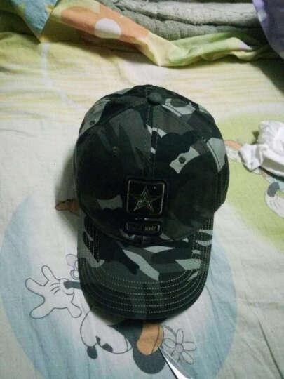 开妮特(Kenniter)帽子男夏户外休闲棒球帽迷彩防晒遮阳帽605 平顶金属军色 晒单图
