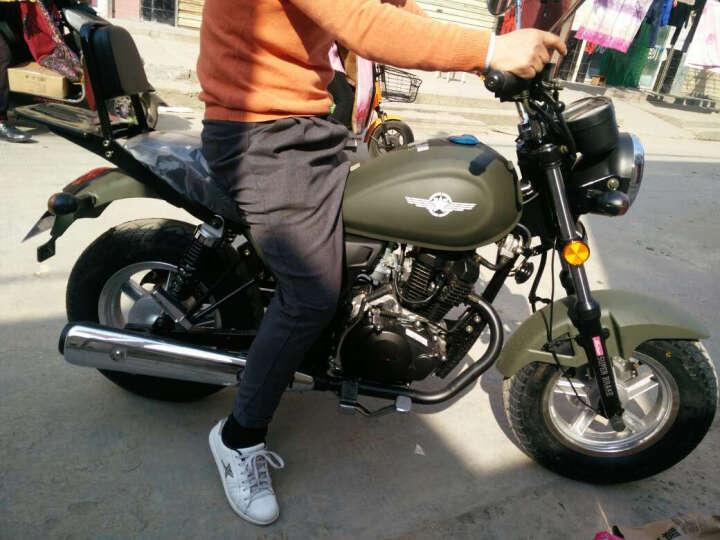 银钢大迷你mini摩托车YG150-22A 黑色 E动款   大mini 晒单图
