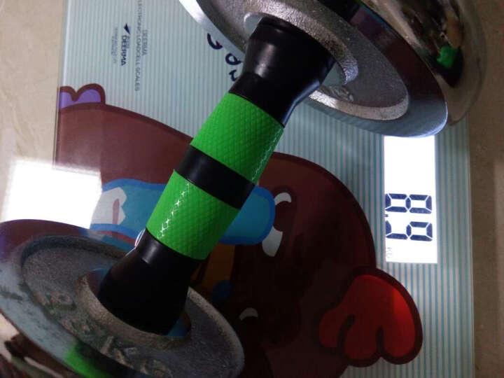 飞尔顿(FEIERDUN)飞尔顿戴套哑铃杠铃组合可拆卸精装盒电镀哑铃男士运动健身器材 30KG精装丝光杆+哑铃套 晒单图