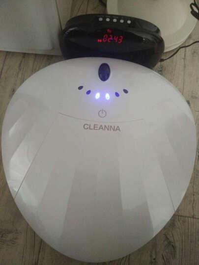卡琳娜F1E(高端机)规划扫地机器人拖地机智能家用吸尘器全自动充电扫吸拖一体机(大水箱真湿拖) 贝壳红色 晒单图