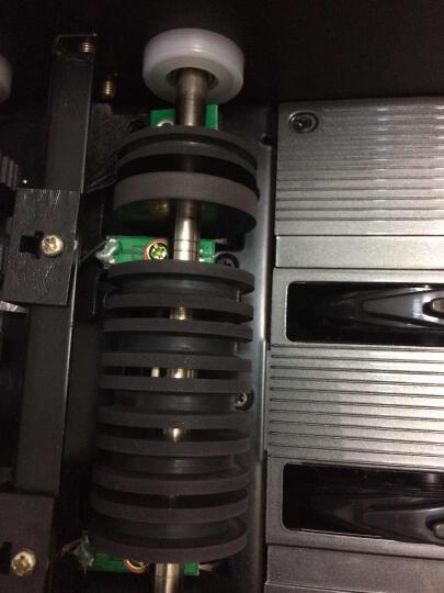 中融555(B)验钞机银行专用小型智能语音点钞机 USB升级 灰黑色+升级线 晒单图